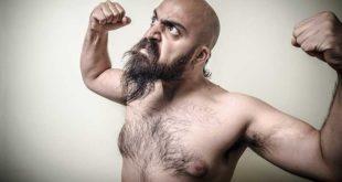 Behaart männer Naked Men